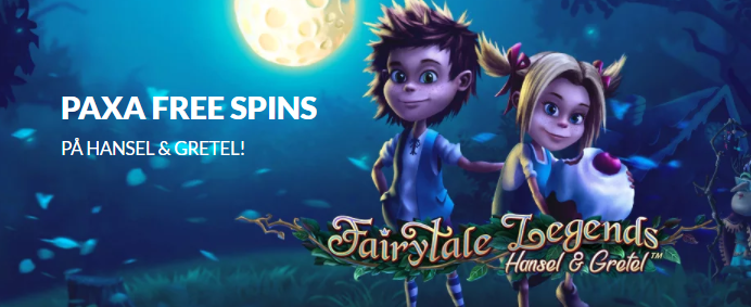 hansel and gretal free spins